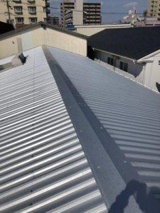屋根カバー工法工事