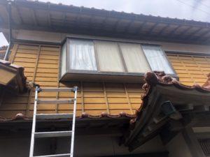 出窓下場張替え工事