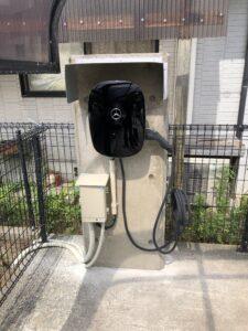 充電ユニット設置工事